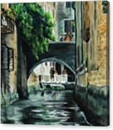 Venice Memory Canvas Print