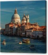 Venice Morning Traffic Canvas Print
