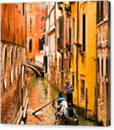Venice Passage Canvas Print