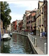 Venice Postcard Canvas Print