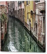 Venice - Reflections Canvas Print