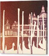 Venice Reversed Canvas Print