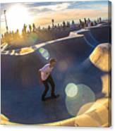 Venice Skate Park Canvas Print