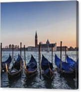 Venice - Sunset Canvas Print