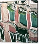Venice Upside Down 3 Canvas Print