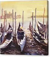 Venice Watercolor- Italy Canvas Print