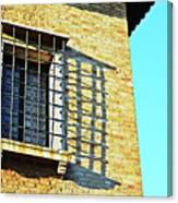 Venice Window Canvas Print