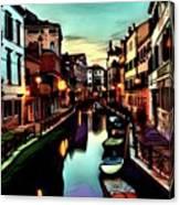 Venize Canvas Print