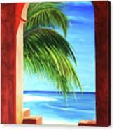 Ventana Al Paraiso Canvas Print