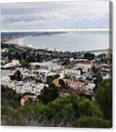 Ventura Coast Skyline Canvas Print