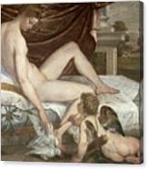Venus And Cupid Canvas Print