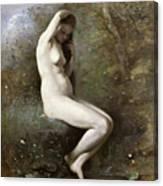 Venus Bathing Canvas Print