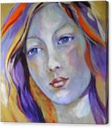 Venus In Iridescents Canvas Print