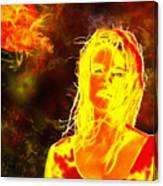 Venus Is Home Canvas Print