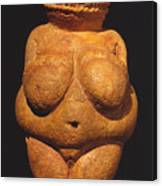 Venus Of Willendorf Canvas Print