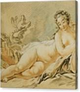 Venus Resting Canvas Print