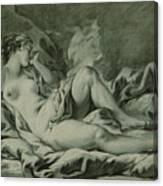 Venus Sleeping Canvas Print