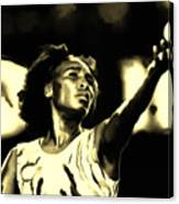 Venus Williams Match Point Canvas Print