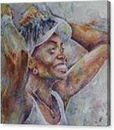 Venus Williams - Portrait 1 Canvas Print