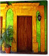 Veranda El Quilete Canvas Print