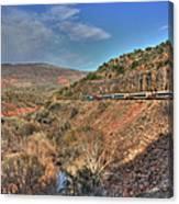 Verde Canyon Rr Canvas Print