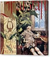 Verdi E Il Falstaff Canvas Print