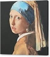 Vermeerish Canvas Print
