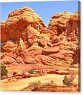 Vermilion Buttes Canvas Print