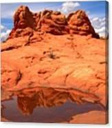 Vermilion Cliffs Reflections Canvas Print