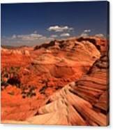 Vermilion Cliffs Rugged Landscape Canvas Print