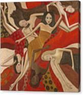 Vermilion Dream Canvas Print