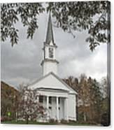 Vermont Church Canvas Print