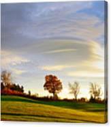 Vermont Hilltop Sunrise Canvas Print