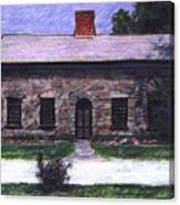 Vermont House Canvas Print