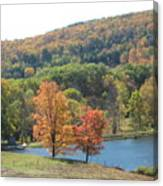 Vermont Pond Canvas Print