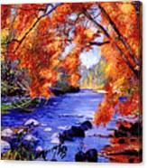 Vermont River Canvas Print
