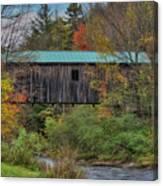 Vermont Rural Autumn Beauty Canvas Print