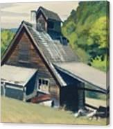 Vermont Sugar House Canvas Print