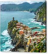 Vernazza, Cinque Terre, Liguria, Italy Canvas Print
