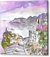 Vernazza In Italy 03 Canvas Print