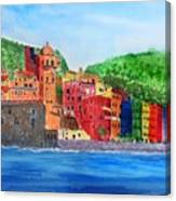Vernazza Italy Canvas Print