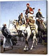 Vernet: Arabs, 1843 Canvas Print