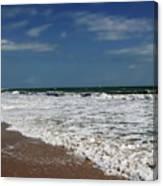 Vero Beach Surf Canvas Print