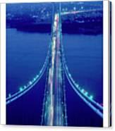 Verrazano Bridge, Ny Canvas Print