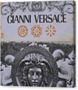 Versace Logo Canvas Print