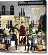 Versace Mansion South Beach Canvas Print