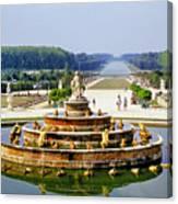 Versailles Garden Canvas Print