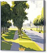 Versailles Travel Poster Canvas Print
