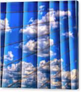 Vertical Sky Canvas Print
