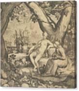 Vertumnus And Pomona, 1605  Canvas Print